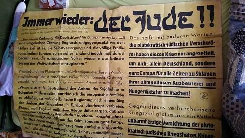 Anti Jewish poster