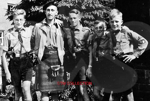 question scottish hitler youth lol  is this the former leader of the snp arthur donaldson