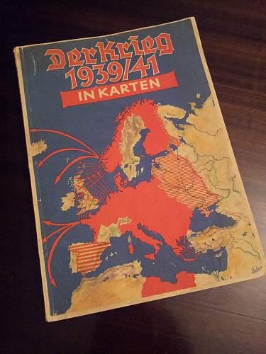 Der Krieg 1939/41 in karten