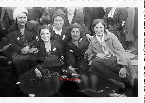 Are these women members of the BDM or the National Socialist Party?