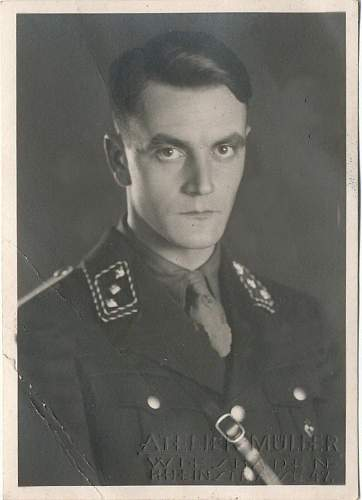 What uniform is this man wearing? Thanks again guys! Hitler Youth?