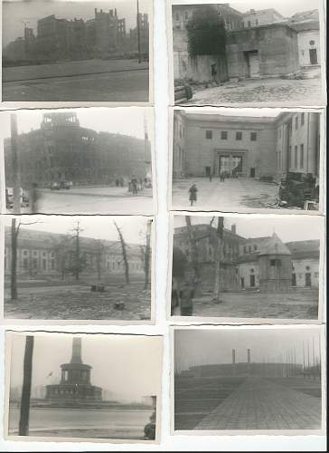 My pictures of the Third Reich in Ruins and the Fuhrer Bunker