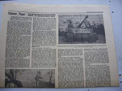 german newspapers 1930-1944