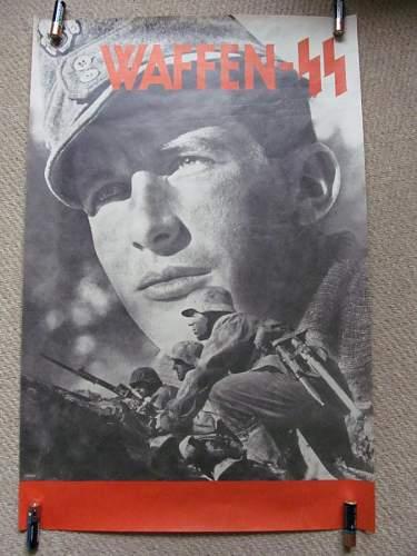 SS Recruitment poster look original?
