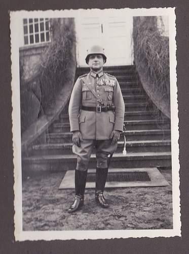 Hitler Visits Pioneer Battalion 3 circa 1934