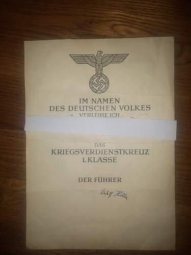 KVK1 certificate