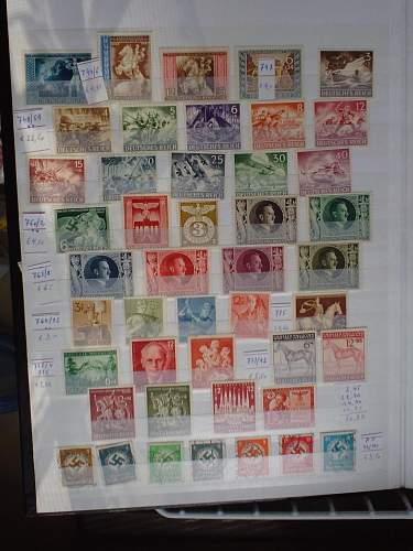 1933-1945 German Stamps