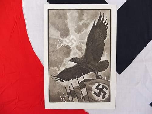 Deutsche Reichspost telegram, the nicest piece of paper ephemera I have seen