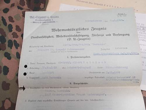 SS Germania documents