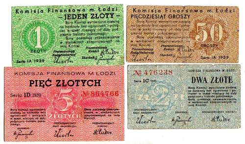 under German occupation: means of payment