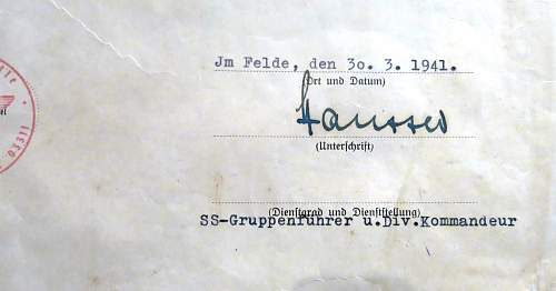 Paul Hausser signature