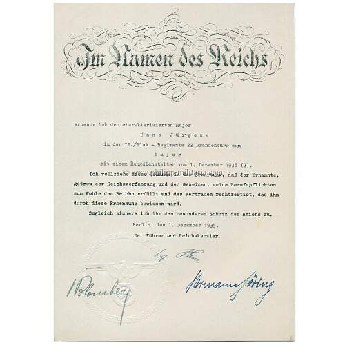 Hitler Autograph - is it real?