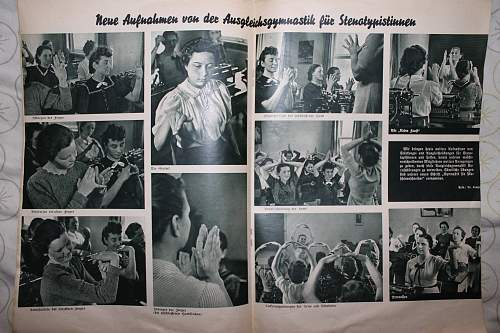 reichszeitung der deustchen stenografen 1939 and 1933 booklet