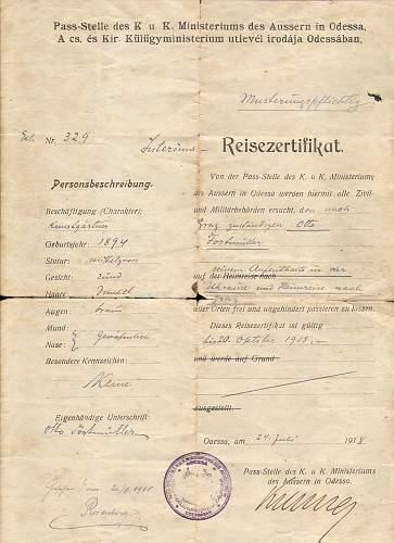 Alfred Rosenberg's sigature??