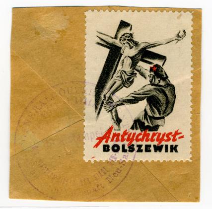 1943 German Anti-Bolshevik stamp