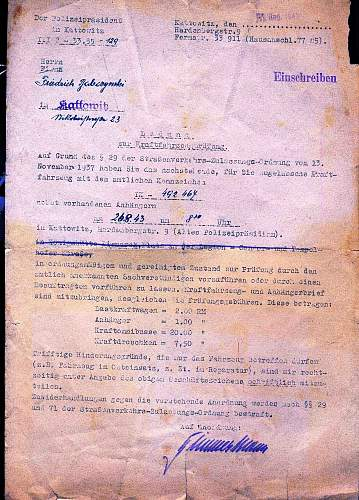 Commandeering a vehicle in occupied Poland