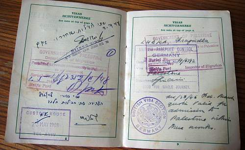 1948 German passport