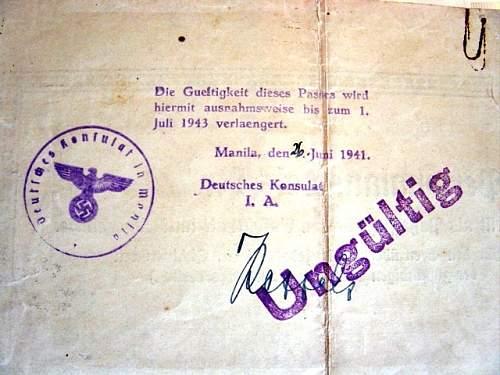 German Asuweis 1941-Manila