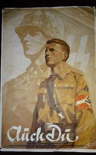 Waffen SS recrutation poster to ID