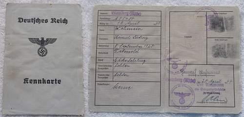 Click image for larger version.  Name:Deutsches Reich Kennkarte 20 April 1944.jpg Views:698 Size:230.5 KB ID:767331
