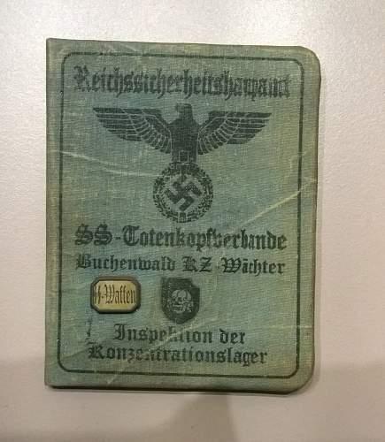 Reichssicherheitshauptamt ID document