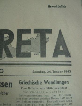 VESTE KRETA newspaper!