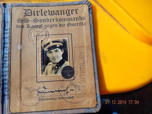 Dirlewanger SS Sonderkommando