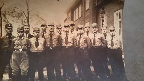 1933 Nazi Party Group Photo
