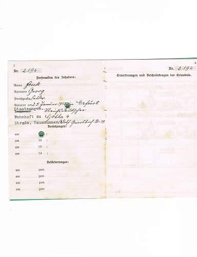 Luftwaffe Identification help