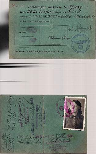 Click image for larger version.  Name:1942 SD stamped Kennkarte.jpg Views:125 Size:200.4 KB ID:805190