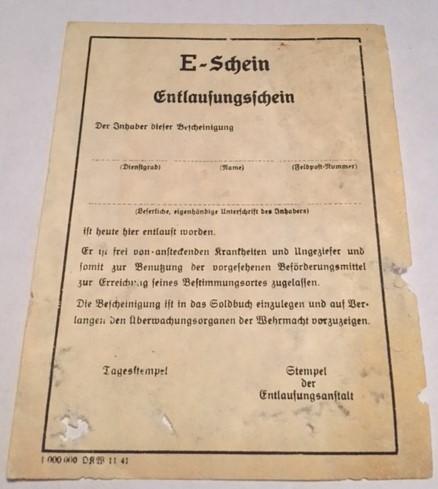 Repro Blank Third Reich Docs?