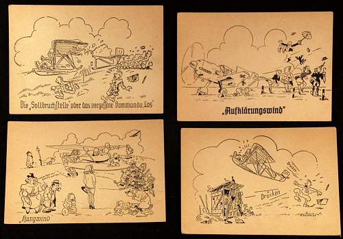 German Comic Postcards