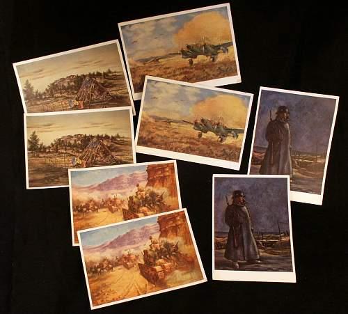 German Art Postcards