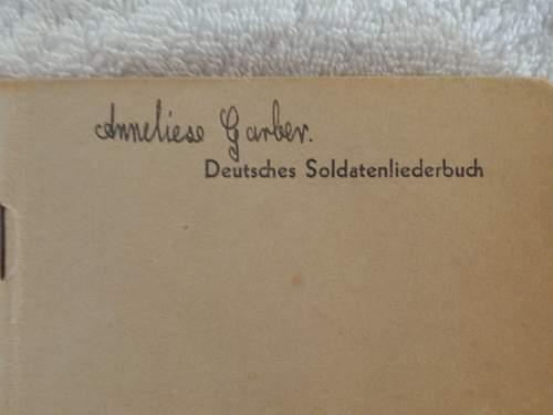 Deutsches Soldatenliederbuch