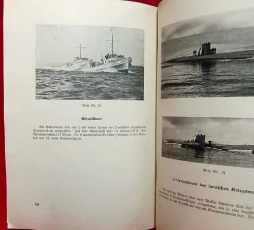 WW2 German Naval booklet