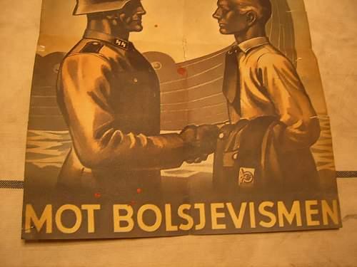 Norvegian SS recruiting poster