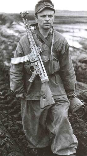 Veteran Landser with Sturmgewehr...