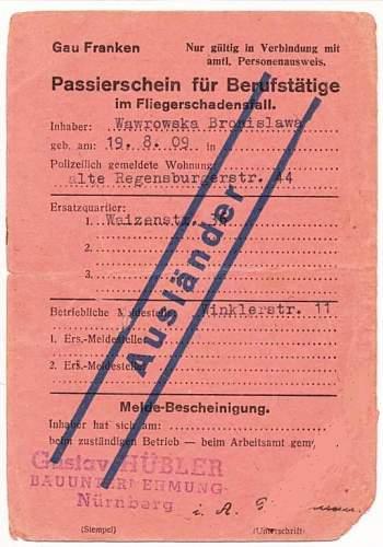 movement permit? local passport?