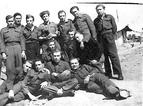 Is this a photo of the reformed 14th Waffen SS Division, 1st Ukrainian Galician Division