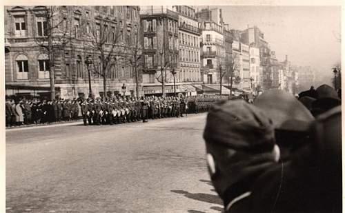 Siegesparade Paris 1940