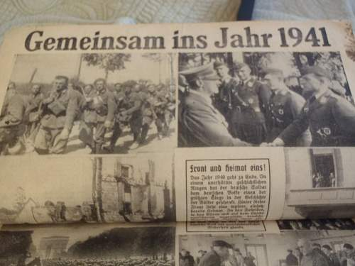 German scrap book.....Anybody ever see one like this?