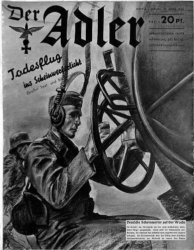 Third Reich cover of magazines/ illustrated / periodicals/ newspapers