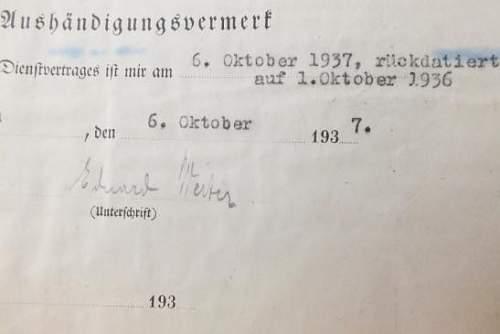 My First Himmler Signature