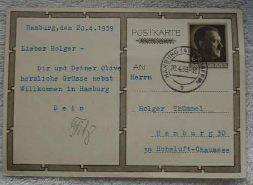 Click image for larger version.  Name:Postcard with Hitler from Hamburg  1939_2.JPG Views:216 Size:46.7 KB ID:840446