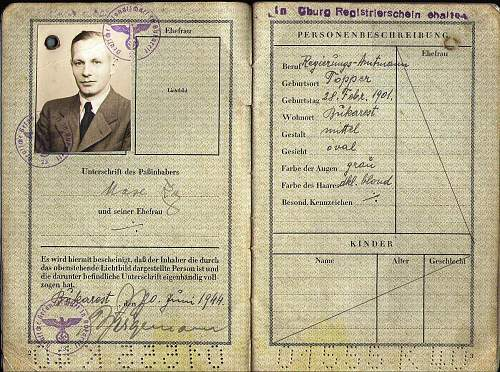 Identifying a goverment official from 1944...