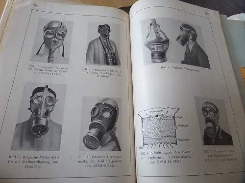 Interesting ww2 German book on Gas masks