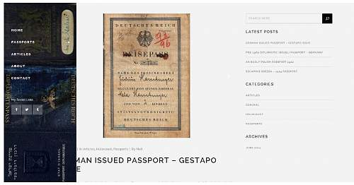 New document web site