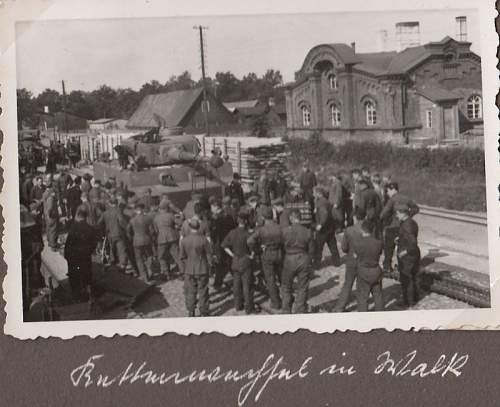 Rare Pz.Abt. 502 photo lot - a lot of Tiger tank pictures from Ostfront