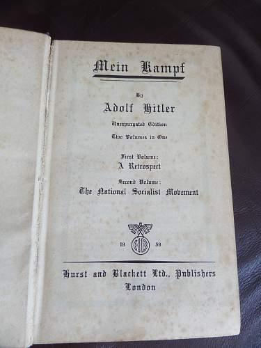1939 British Mein Kampf