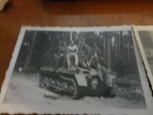 Intersting Panzer photos early NSKK? Captured British Tank???